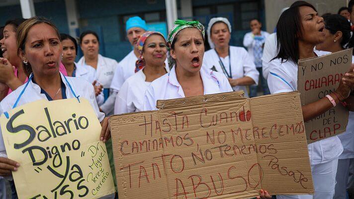 A los tratabadores de la salud en Venezuela les aquejan los peores males: sueldos miserables y la exposición constante a la COVID-19. La denuncia la hizo el secretario ejecutivo de Fetrasalud, Pablo Zambrano,