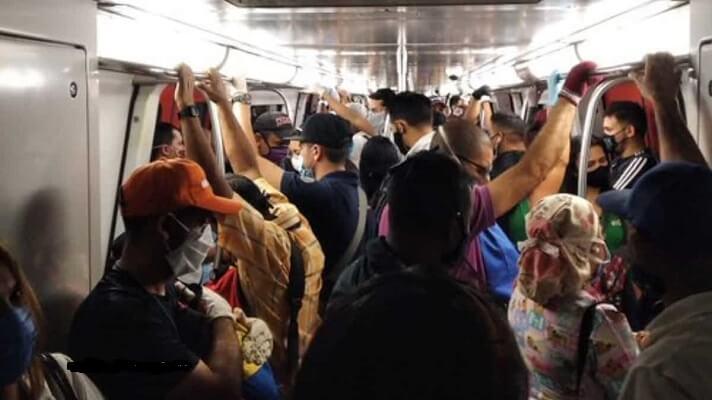 La ONG Familiametro, alertó por el riesgo que corren los usuarios del Metro de Caracas que se ha convertido en un