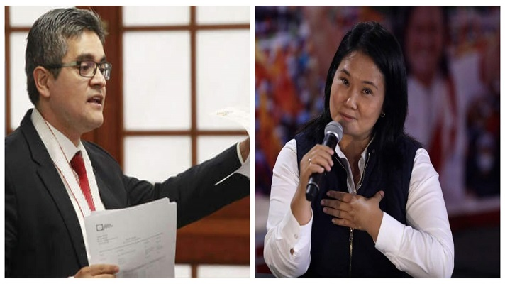 Un fiscal anticorrupción peruano pidió este jueves prisión preventiva para la candidata derechista Keiko Fujimori. Lo hizo por haberse reunido indebidamente con un testigo del caso Odebrecht, mientras el resultado del balotaje presidencial del domingo sigue abierto.