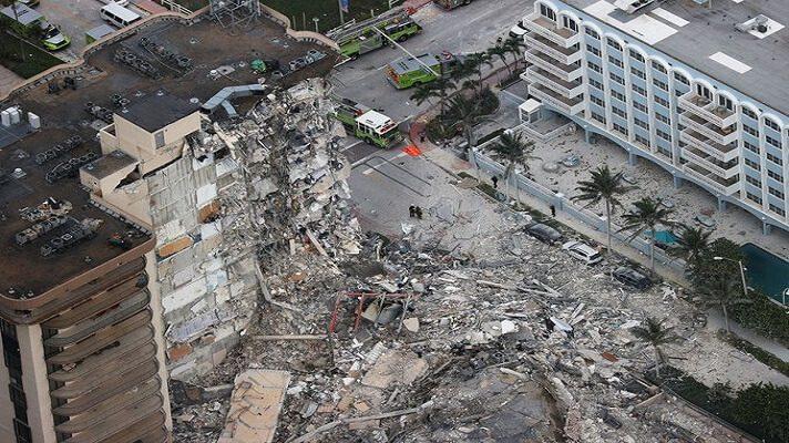 La tormenta tropical Elsa puso más presión a las operaciones de búsqueda y rescate de víctimas en el edificio parcialmente derrumbado en Miami-Dade. Esto obligó a las autoridades a decidir su completa demolición antes de este lunes, mientras el número cuerpos localizados se encuentra en 24.