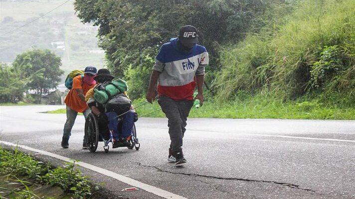 La fundación Juntos se Puede, realizó un recorrido por la Ruta del Sur que tiene 475 km y abarca los departamentos Nariño, Valle del Cauca y Cauca, en Colimbia. Este trecho lo recorren caminantes venezolanos al ingresar a ese país, principalmente por Cúcuta.
