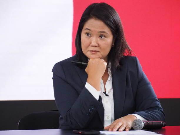 Keiko Fujimori, excandidata presidencial en Perú