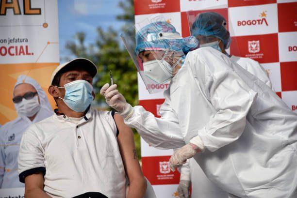 Vacunación en Bogotá, certificacado digital de vacunación