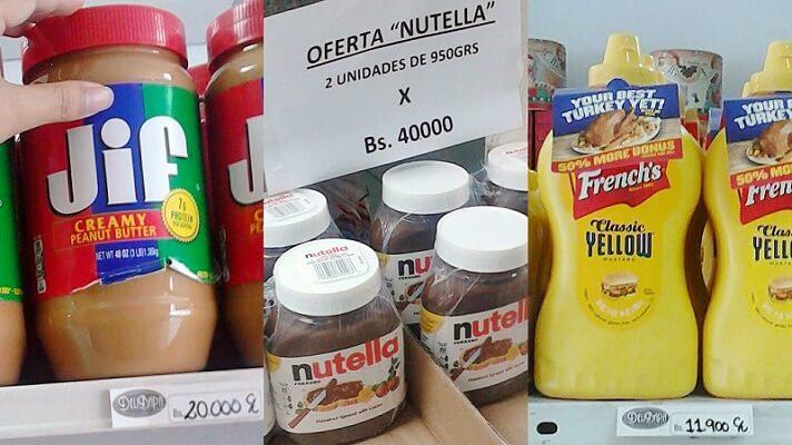 Buena parte de los supermercados en Venezuerla están repleto de productos, pero importados. Los mismos están cada día más presentes en los anaqueles. Esto en un país donde la administración de Nicolás Maduro permite la competencia desleal, al exonerar de impuestos a los artículos terminados que llegan del extranjero.
