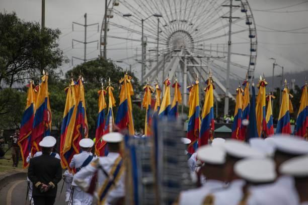 Desfile del 20 de julio en Colombia