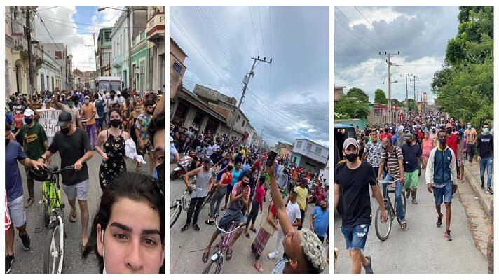 Human Rights Watch (HRW), ONG defensora de los DD.HH. denunció este miércoles que más de 150 personas están desaparecidas en Cuba. Esto se une a las más de 5.000 detenciones y, al menos un muerto, como saldo de los dos días de represión contra las protestas que estallaron el domingo.