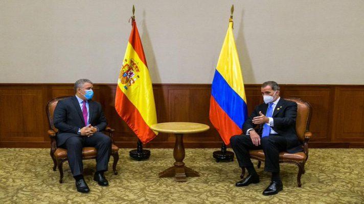 la-crisis-en-venezuela-fue-el-tema-de-una-reunion-entre-ivan-duque-y-el-rey-felipe-vi-en-peru