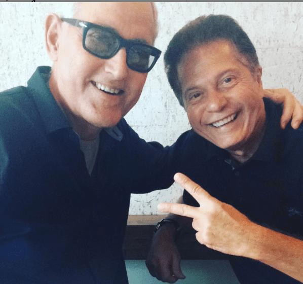 Flavio Caballero compartió con Yordano recientemente. Foto Instagram