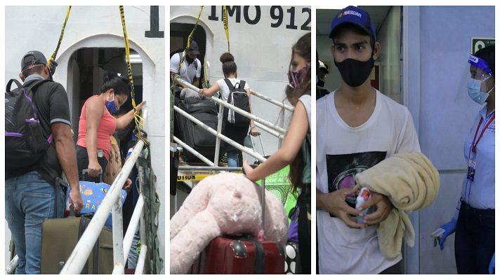 Las autoridades de Trinidad y Tobago establecieron fuertes medidas para prevenir el contagio de la COVID-19. Esto durante la repatriación este sábado de más de 650 venezolanos.