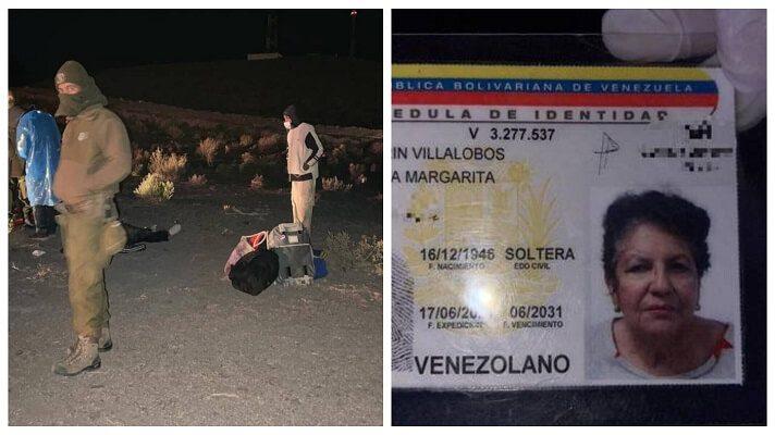 La muerte de Edda Margarita Marín Villalobos, es realmente trágica. A sus 75 años, tuvo que pasar por la tortura de atravesar la inhóspita frontera entre Bolivia y Chile.
