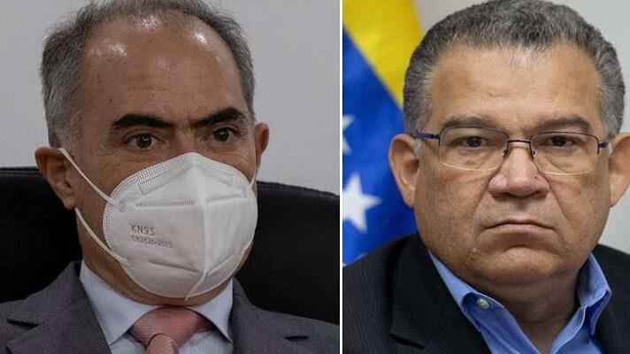 Los rectores del Consejo Nacional Electoral (CNE), Roberto Picón y Enrique Márquez, rechazaron la detención del exdiputado Freddy Guevara. Dijeron que acciones como estas no contribuyen a la democracia y afecta el proceso de diálogo.