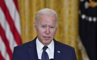 Biden habla a a nación sobre su decisión de retirar las tropas estadounidenses de Afganistán un día después de que el último soldado saliera en un avión militar del país asiático