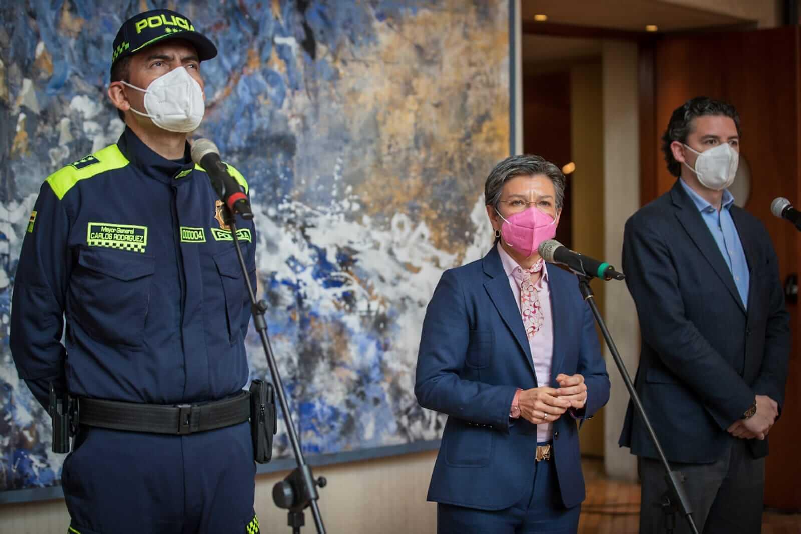 Comando especial de policía ymigrantes se crea en Bogotá para combatir la criminalidad