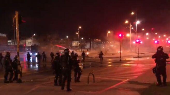 Actos violentos en Bogotá generan rechazo de mandatarios