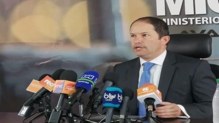El director de Migración Colombia, Francisco Espinosa, ofreció este martes los detalles de la pronta llegada de 4.000 afganos al territorio de ese país.