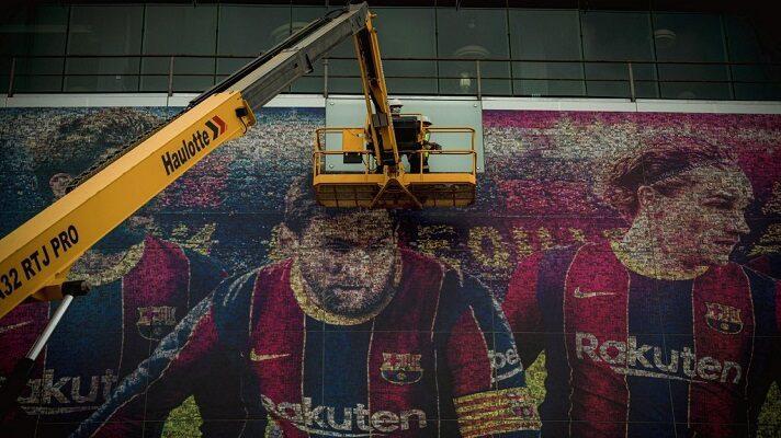 Como para que no quede dudas de que no hay vuelta atrás, el Barcelona ya está borrando a Lionel Messi.