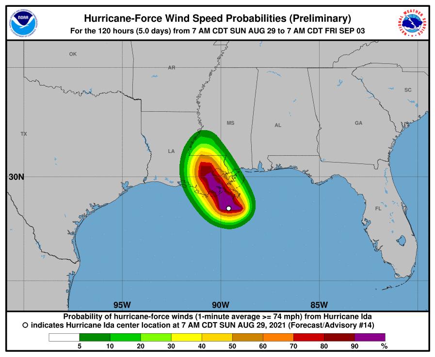 """Ida es considerado un huracán """"extremadamente peligroso"""". Está en Luisiana, EE.UU"""