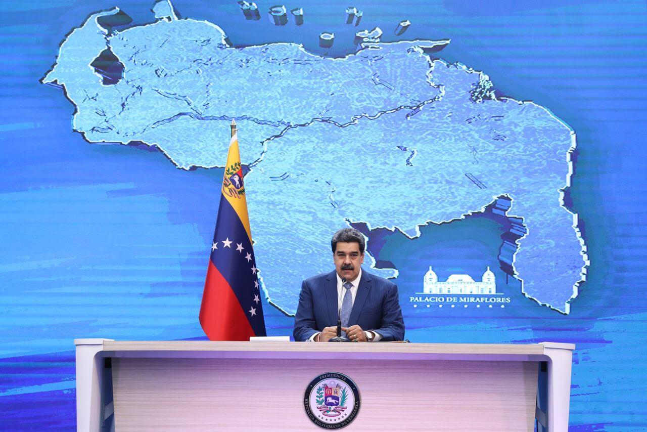 Maduro evita referirse a muerte de 'Jesús Santrich' en Venezuela