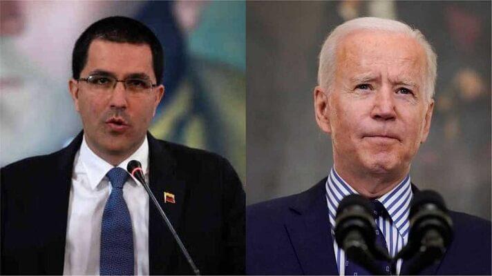 Este lunes, Jorge Arreaza y Juan González, asesor de seguridad del Gobierno de los Estados Unidos, protagonizaron un