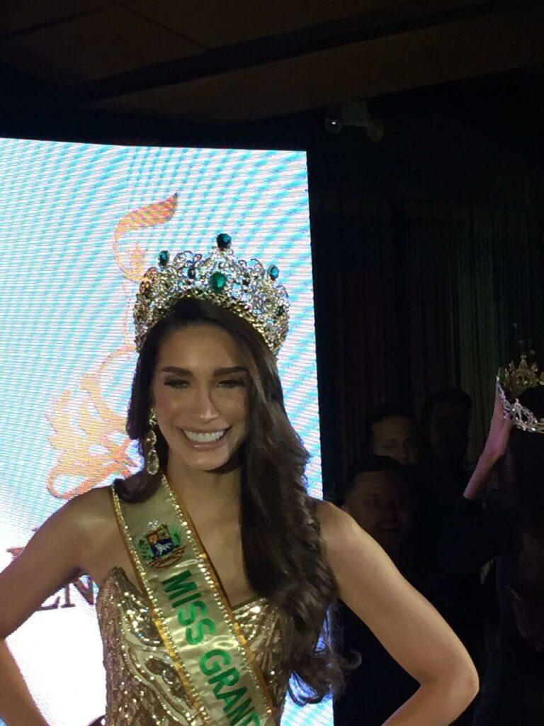 Vanessa Coello estuvo en el Miss Venezuela 2019. Foto Carmela Longo