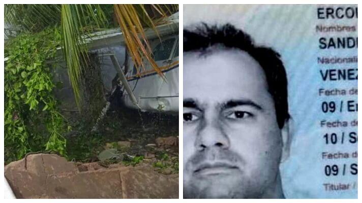 Sandro Enrique Ercoli García de 54 años, estaría solicitado en Estados Unidos por el delito de narcotráfico. Se trata del piloto que estrelló el helicóptero que tripulaba, en la calle 2 del sector Los Almendrones, parroquia Las Cocuizas de Maturín, estado Monagas.