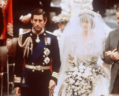 La de Carlos y Diana fue denominada la boda del siglo XX. Foto AFP