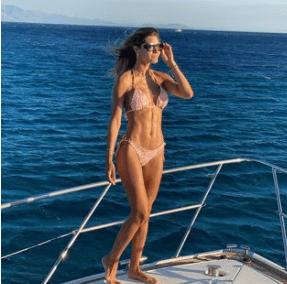 Osmariel Villalobos compartió sus vacaciones en Instagram