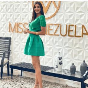 Isbel Cristina Parra ya no viajará al Miss International 2021. Foto Instagram
