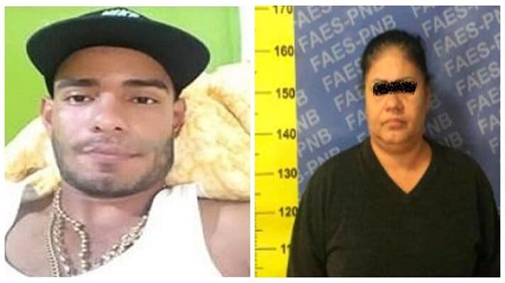 María del Carmen Angulo Zorrilla, madre de Leonardo José Polanco Angulo, de 29 años, alias Loco Leo, está detenida. Esto ocurreió días después de que al Loco Leo lo abatieron, en Parque Caiza, estado Miranda.