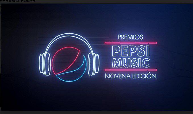 Ya se puede votar en los premios Pepsi Music 2021
