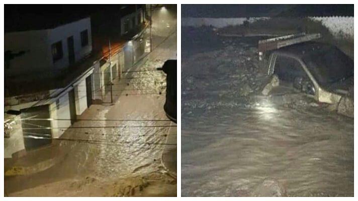 Las torrenciales lluvias caídas este lunes en varios estados del país, arremetieron con todas su fuerza en el estado Mérida y en especial en Tovar y Santa Cruz de Mora. Hasta el momento se sabe de al menos dos muertos, varios desaparecidos y damnificados.