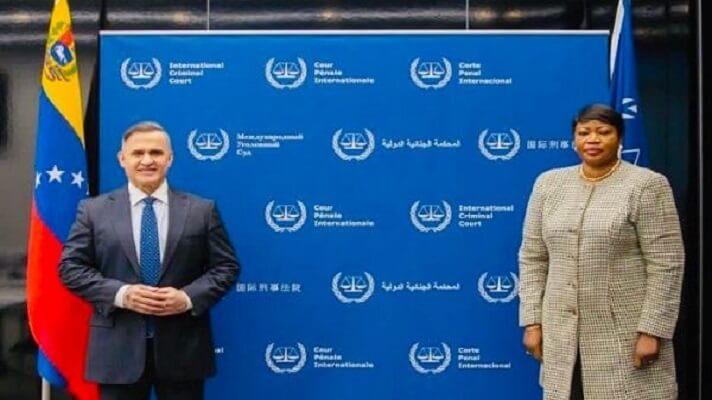 El fiscal general de Nicolás Maduro, Tarek William Saab, rechazó el informe que la exfiscal de la Corte Penal Internacional (CPI) Fatou Bensouda, dejó sobre Venezuela.