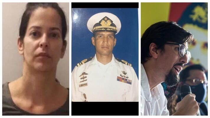 Waleska Pérez de Acosta, viuda del capitán Rafael Acosta Arévalo, reaccionó indignada contra el dirigente opositor Freddy Guevara. Este último instó este martes a
