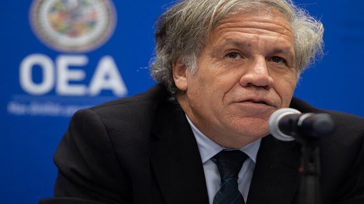El secretario general de la Organización de los Estados Americanos (OEA), Luis Almagro, reiteró su apoyo al diálogo entre Nicolás Maduro y la oposición. Pero consideró poco probable que él renuncie a sus poderes claves.