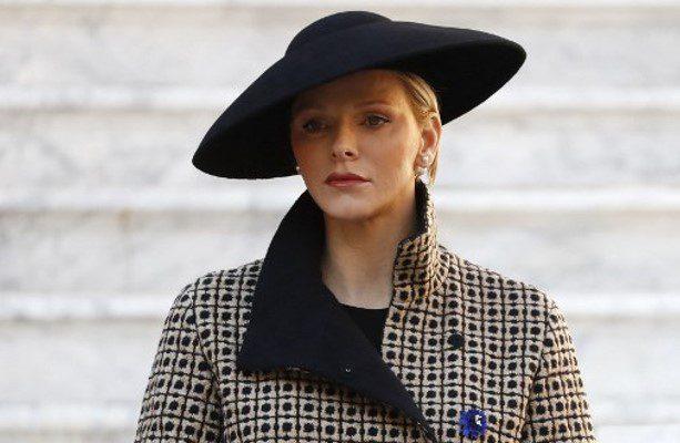 La princesa Charlene de Mónaco