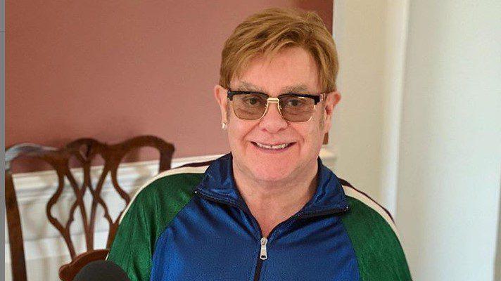 Elton John y una constelación de astros se hicieron oír por el planeta