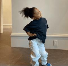Kylie Jenner le dará un hermanito a Stormi. Foto Instagram