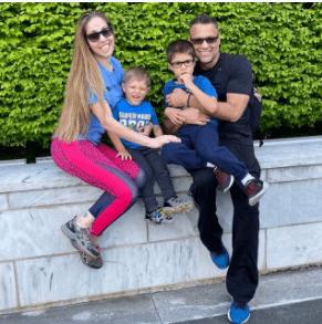 Ricardo Álamo y su familia. Foto Instagram