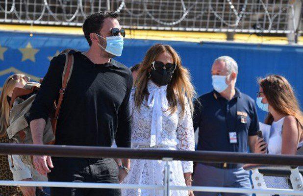 JLo y Ben Affleck se roban el show en Venecia