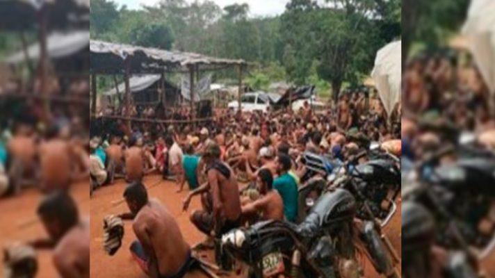 operativo-de-rescate-de-680-mineros-secuestrados-por-el-tren-de-aragua-en-bolivar-deja-un-muerto-y-dos-heridos