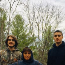 Los tres hijos que Emma Rabbe tuvo con Daniel Alvarado. Foto Instagram